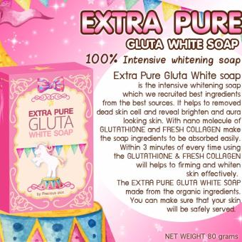 Extra Pure Gluta White Soap 80g Set of 5 Price Philippines