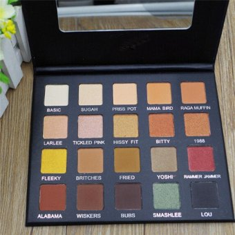 Eyeshadow Matte Palette Eye Shadow Eyes Making Makeup Cosmetic Portable - intl