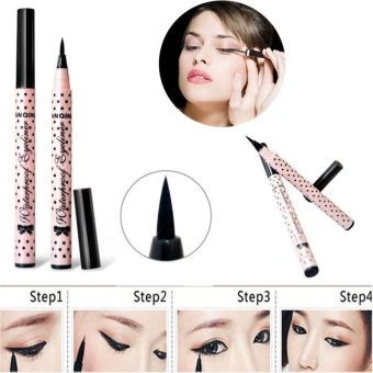 Fabulous New Ultra Strong Black Eyeliner Waterproof Liquid Eye Liner Pen Make Up Beauty - intl