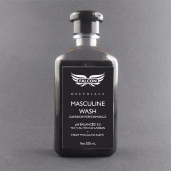 Falcon Masculine Wash - Deep Black 200mL Price Philippines