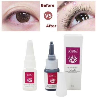 False Eye Lash Glue Extensions Eyelashes Adhesives 30Days Black/Clear Pro - intl