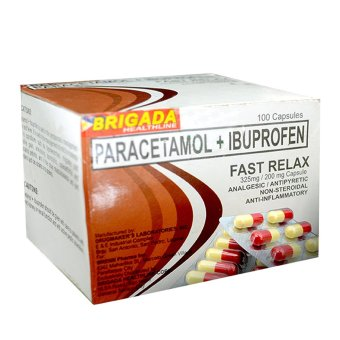 Fast Relax Paracetamol + Ibuprofen Box of 100's