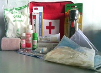 First Aid Kit Set (Medical Bag)