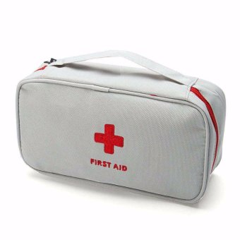 First Aid Travel Kit (Gray)