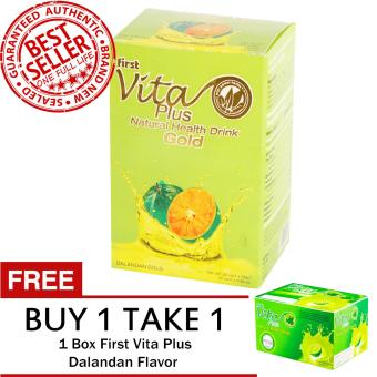 First Vita Plus Dalandan Gold 20 Sachets FREE First Vita Plus Dalandan Flavor 20 Sachets