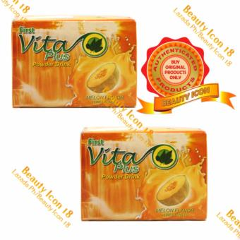 First Vita Plus Natural Health Drink Melon 20 sachets By 2s Price Philippines