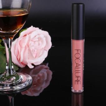 FOCALLURE Long Lasting Liquid Lipstick Matte Lip Gloss Party Makeup 15-Color - intl - 4