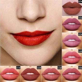 FOCALLURE Long Lasting Liquid Lipstick Matte Lip Gloss Party Makeup 15-Color - intl - 3