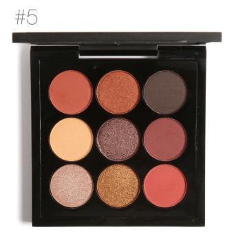 FOCALLURE Makeup Brush Matte Glitter Eyeshadow Palette CosmeticsLong-lasting Eyeshadow Pallete Make Up Palette Waterproof EyeShadow Makeup - intl - 5