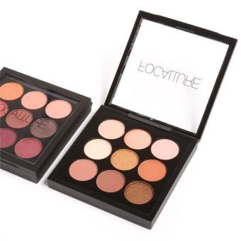 FOCALLURE Makeup Brush Matte Glitter Eyeshadow Palette CosmeticsLong-lasting Eyeshadow Pallete Make Up Palette Waterproof EyeShadow Makeup - intl - 4
