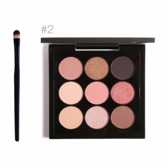 FOCALLURE Makeup Brush Matte Glitter Eyeshadow Palette CosmeticsLong-lasting Eyeshadow Pallete Make Up Palette Waterproof EyeShadow Makeup - intl
