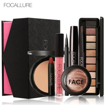 FOCALLURE Makeup Set Eye Shadow Mascara Lipstick Fashion Beautiful Simple Makeup A - intl Price Philippines