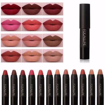 Focallure Matte Lipstick No Budge - Fuzzy Wuzzy 18g - 2