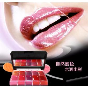 Freedom Kiss 10 Colors Candy Color Lipstick Lip Color Lip Gloss