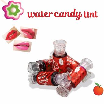 Fruit Flavor Lipgloss Water Candy Tint Charmed Lips CosmeticsMoisturizer Nutritious Long-lasting Lip Gloss Liquid Pink Lipstick(Soft Persimmon)