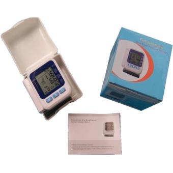 Full Automatic Digital Wrist Blood Pressure Monitor (White)