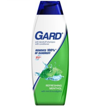 GARD Anti-Dandruff Refreshing Menthol Shampoo 180ml
