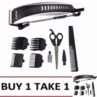 Gemei 1001 Hair Clipper Trimmer 9-piece Set. Professional Buy1Take1 Price Philippines