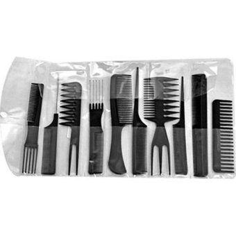 Generic Set 10 Professional Hair Styling Hairdressing Comb New (Intl) - picture 2