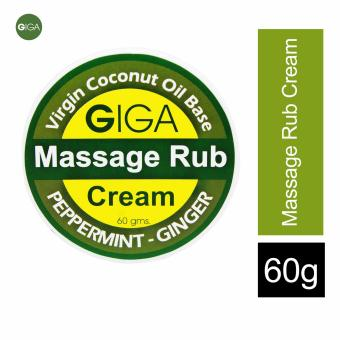 Giga Massage Cream 60g (Peppermint-Ginger) No Pain Balm