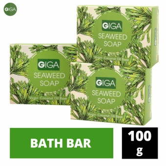 Giga Seaweed Soap 100g, Set of 3