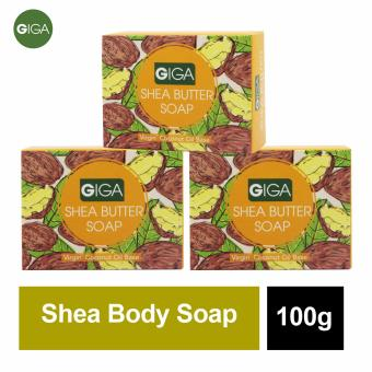 Giga Shea Butter Soap 100g Set of 3