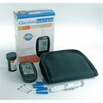 GlucoSure AutoCode Blood Glucose Monitoring System w/ additionalTest Strips