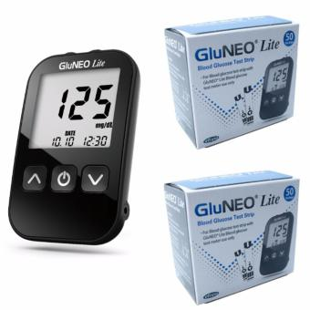 GluNeo Lite Glucose Meter Test Strips, 100s Price Philippines