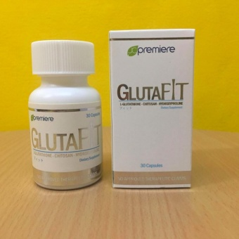 Gluta Fit 500mg Vegetable Capsule Bottle of 30