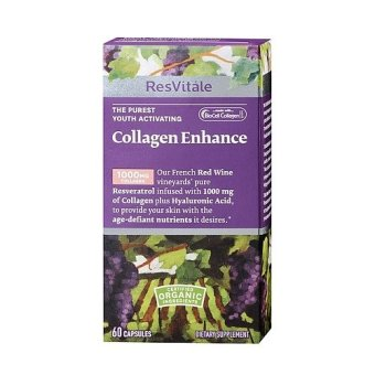 GNC Collagen Enhance with Resveratrol 60's