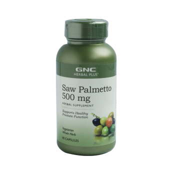 GNC Saw Palmetto 500mg Tab 90's