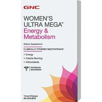 GNC Women's Energy and Metabolism 90's