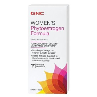 GNC Womens Phytoestrogen Softgel Bottle of 60