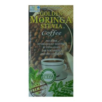Golden Moringa Stevia Coffee, 12 sachets