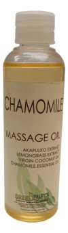 Green Palette Chamomile VCO Massage Oil
