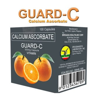 Guard-C Calcium Ascorbate Box of 100's