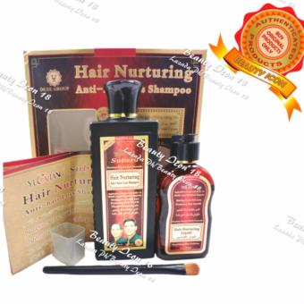 Hair Nurturing Anti-hair Loss Shampoo & Growing Serum Set