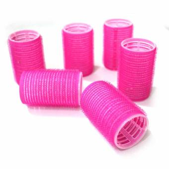 Hair Rollers (Magnetic Big) Pink