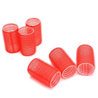 Hair Rollers (Magnetic Big) Red Price Philippines