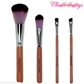 Happy Makeup 4pcs Make-up Brush (Pink)