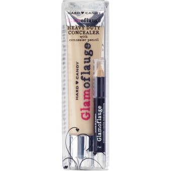 Hard Candy Glamoflauge Heavy Duty Concealer with Concealer Pencil,Ivory