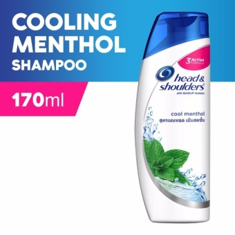 Head & Shoulders Cool Menthol Shampoo 170ml