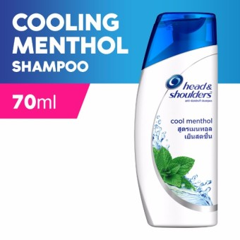 Head & Shoulders Cool Menthol Shampoo 70ml