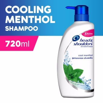 Head & Shoulders Cool Menthol Shampoo 720ml