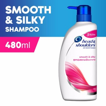 Head & Shoulders Smooth & Silky Shampoo 480ml