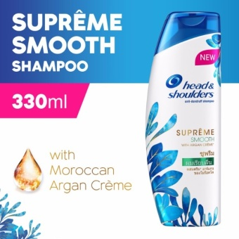 Head & Shoulders Supreme Smooth Shampoo 330ml