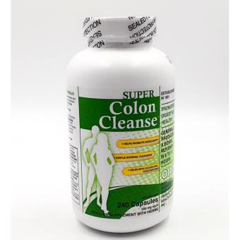 Health plus super colon cleanse 500mg 240 capsules