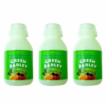 Health Wealth Green Barley Health Drink 3'S