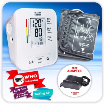 Healthy Choices Automatic Blood Pressure Monitor (Digital Blood Pressure)