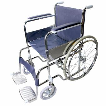 Heavy Duty Foldable Stainless Steel Wheelchair 809